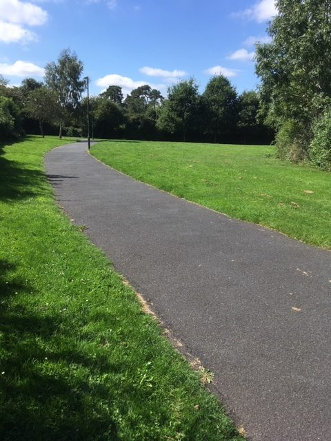 Danes Green path